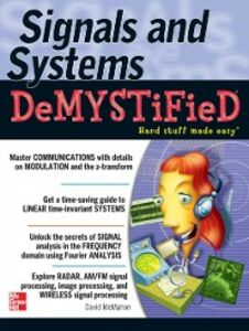 Ebook in inglese Signals & Systems Demystified McMahon, David
