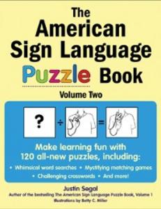 Ebook in inglese American Sign Language Puzzle Book Volume 2 Segal, Justin