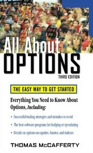 Ebook in inglese All About Options, 3E McCafferty, Thomas