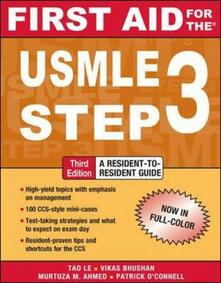 First Aid for the USMLE Step 3 - copertina
