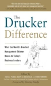 Ebook in inglese Drucker Difference: What the World's Greatest Management Thinker Means to Today's Business Leaders Maciariello, Joseph A. , Pearce, Craig L. , Yamawaki, Hideki