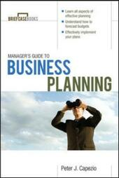 Manager's Guide to Business Planning
