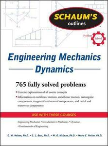 Schaum's Outline of Engineering Mechanics Dynamics - E. W. Nelson,Charles L. Best,W. G. Mclean - cover