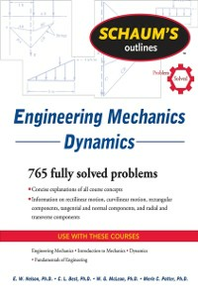 Ebook in inglese Schaum's Outline of Engineering Mechanics Dynamics Best, Charles , McLean, W. G. , Nelson, E. , Potter, Merle