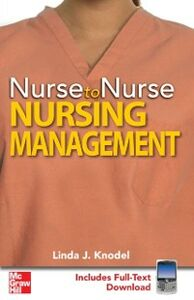 Ebook in inglese Nurse to Nurse Nursing Management Knodel, Linda
