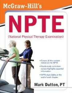 Ebook in inglese McGraw-Hill's NPTE (National Physical Therapy Examination) Dutton, Mark