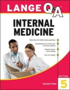 Ebook in inglese Lange Q&A Internal Medicine, 5th Edition Patel, Yashesh