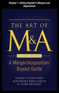 Ebook in inglese Art of M&A, Fourth Edition, Chapter 1 Lajoux, Alexandria , Nesvold, H. Peter , Reed, Stanley Foster