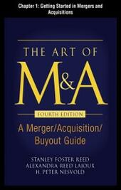 Art of M&A, Fourth Edition, Chapter 1