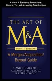 Art of M&A, Fourth Edition, Chapter 5