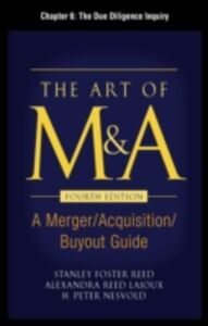 Ebook in inglese Art of M&A, Fourth Edition, Chapter 6 Lajoux, Alexandria , Nesvold, H. Peter , Reed, Stanley Foster