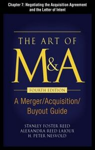Ebook in inglese Art of M&A, Fourth Edition, Chapter 7 Lajoux, Alexandria , Nesvold, H. Peter , Reed, Stanley Foster