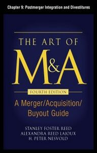 Ebook in inglese Art of M&A, Fourth Edition, Chapter 9 Lajoux, Alexandria , Nesvold, H. Peter , Reed, Stanley Foster