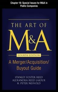 Ebook in inglese Art of M&A, Fourth Edition, Chapter 10 Lajoux, Alexandria , Nesvold, H. Peter , Reed, Stanley Foster