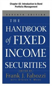 Ebook in inglese Handbook of Fixed Income Securities, Chapter 43 Fabozzi, Frank
