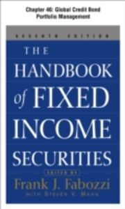 Ebook in inglese Handbook of Fixed Income Securities, Chapter 46 - Global Credit Bond Portfolio Management Frank, Fabozzi,