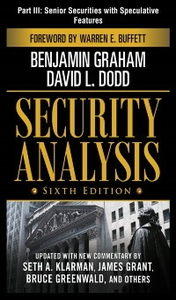 Ebook in inglese Security Analysis, Sixth Edition, Part III Dodd, David L , Graham, Benjamin