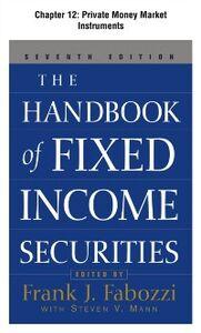 Foto Cover di Handbook of Fixed Income Securities, Chapter 12, Ebook inglese di Frank Fabozzi, edito da McGraw-Hill