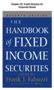 Foto Cover di Handbook of Fixed Income Securities, Chapter 32, Ebook inglese di Frank Fabozzi, edito da McGraw-Hill