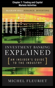 Ebook in inglese Investment Banking Explained, Chapter 7 Fleuriet, Michel