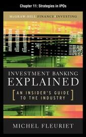 Investment Banking Explained, Chapter 11