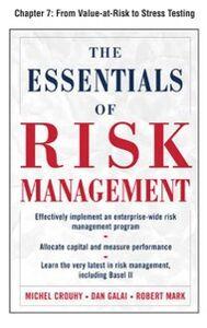 Ebook in inglese Essentials of Risk Management, Chapter 7 Crouhy, Michel , Galai, Dan , Mark, Robert