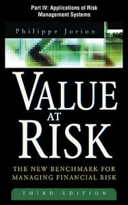 Ebook in inglese Value at Risk, 3rd Ed., Part IV Jorion, Philippe