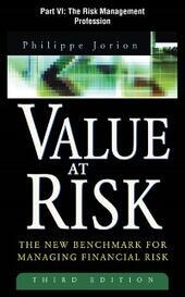 Value at Risk, 3rd Ed., Part VI