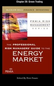 Ebook in inglese Professional Risk Managers' Guide to the Energy Market, Chapter 20 (PRMIA), Professional Risk Managers' International Association