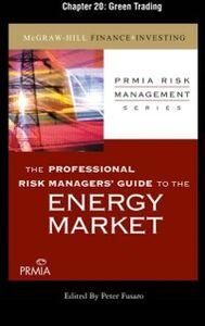 Foto Cover di Professional Risk Managers' Guide to the Energy Market, Chapter 20, Ebook inglese di Professional Risk Managers' International Association (PRMIA), edito da McGraw-Hill