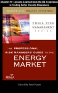 Ebook in inglese Professional Risk Managers' Guide to the Energy Market, Chapter 21 (PRMIA), Professional Risk Managers' International Association