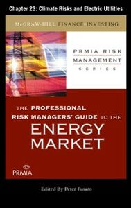 Ebook in inglese Professional Risk Managers' Guide to the Energy Market, Chapter 23 (PRMIA), Professional Risk Managers' International Association