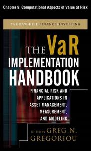 Ebook in inglese VAR Implementation Handbook, Chapter 9 Gregoriou, Greg N