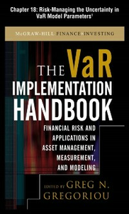 Ebook in inglese VAR Implementation Handbook, Chapter 18 Gregoriou, Greg N