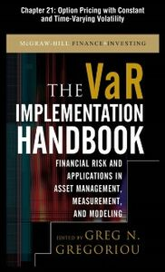 Ebook in inglese VAR Implementation Handbook, Chapter 21 Gregoriou, Greg N