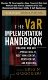 VAR Implementation Handbook, Chapter 23