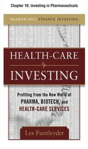 Ebook in inglese Healthcare Investing, Chapter 10 Funtleyder, Les