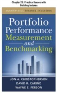 Ebook in inglese Portfolio Performance Measurement and Benchmarking, Chapter 23 Carino, David R , Christopherson, Jon A , Ferson, Wayne E
