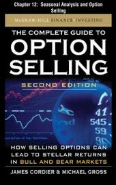 Complete Guide to Option Selling, Second Edition, Chapter 12