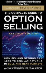 Ebook in inglese Complete Guide to Option Selling, Second Edition, Chapter 13 Cordier, James , Gross, Michael