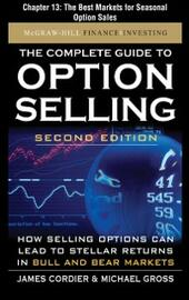 Complete Guide to Option Selling, Second Edition, Chapter 13