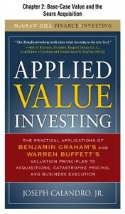 Ebook in inglese Applied Value Investing, Chapter 2 Calandro, Jr., Joseph