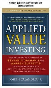 Applied Value Investing, Chapter 2