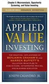Applied Value Investing, Chapter 5