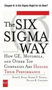 Foto Cover di Six Sigma Way, Chapter 6, Ebook inglese di AA.VV edito da McGraw-Hill