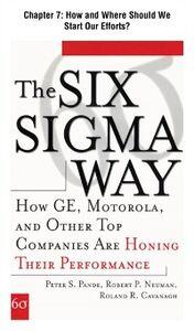 Ebook in inglese Six Sigma Way, Chapter 7 Cavanagh, Roland , Neuman, Robert , Pande, Peter