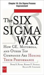 Foto Cover di Six Sigma Way, Chapter 15, Ebook inglese di AA.VV edito da McGraw-Hill