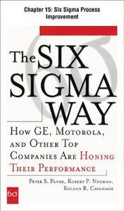 Ebook in inglese Six Sigma Way, Chapter 15 Cavanagh, Roland , Neuman, Robert , Pande, Peter