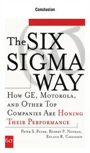 Ebook in inglese Six Sigma Way, Conclusion Cavanagh, Roland , Neuman, Robert , Pande, Peter