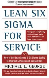 Lean Six Sigma for Service, Chapter 13